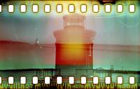 Lighthouse Double Exposure