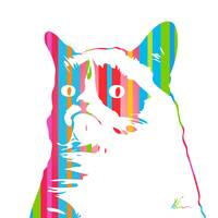 Grumpy Cat | Color | Pop Art
