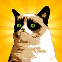 Grumpy Cat | Pop Art