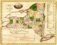 Map of the State of New York (1833)