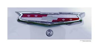 1955 Chevrolet Bel Air Trunk Emblem