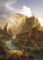 The Fountain of Vaucluse by Thomas Cole