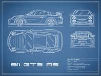 911 GT3 RS Blueprint