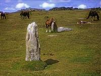 Horses and Standing Rocks