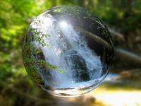 Waterfall Bubble