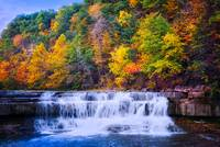 Autumn Beauty At Lower Taughannock Falls