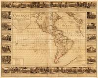 Map of North and South America (1752)