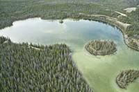 Yukon Lake - Aerial Photography