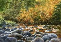Autumn River Rocks 2