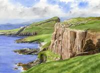 Coastal Cliffs Scotland
