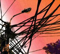 Vietnam Telephone Wires Painting 3