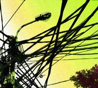 Vietnam Telephone Wires Painting 2