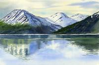 Alaska Mountain Reflections Turnagain Arm