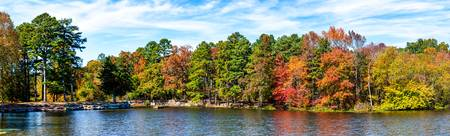 Fall at Lake Bailey Panorama