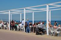 Barcelona beach bar, Catalonia