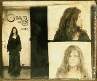 Janis Joplin Mug Shot 1969 Photo Gold