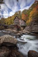 Babcock Mill Daytime in West Virginia by Cody York
