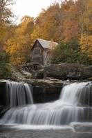 Babcock Mill Autumn Vertical in West Virginia by C