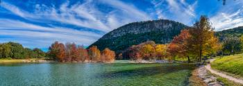 Fall at Garner Panorama