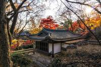 Gilsangsa temple in Autumn