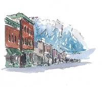 USA Impression Telluride Main Street Colorado