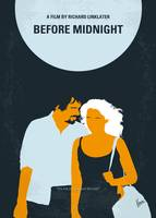 No1013 My Before Midnight minimal movie poster