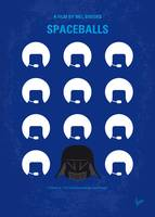 No1015 My Spaceballs minimal movie poster