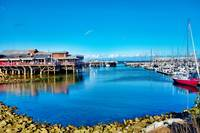Old Fishermans Wharf Monterey Study 5
