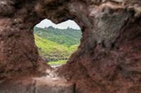 Heart Shaped Rock Formation