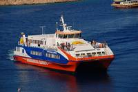 Catamaran ferry, Halki