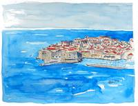 Dubrovnik Croatia, Pearl of the Adriatic Sea