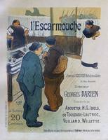 LEscarmouche, 1893 French Vintage Poster