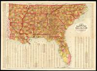 Garrison's map of Dixie (1909)