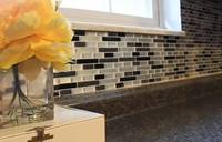 Clever smart tiles for  kitchen backsplash
