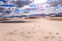 Sunny Day at White Sands National Monument