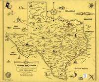 Literary Map of Texas (1955)