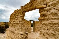 ruins in Terlingua Ghost Town