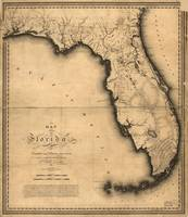 Map of Florida (1823)