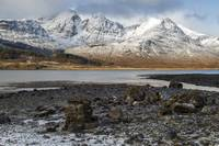 Bla Bheinn( Blaven) in the Snow