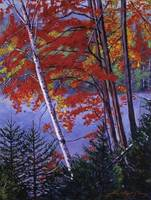 ALGONQUIN LAKE FALL