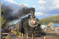 Grand Canyon Railway Steam Locomotive