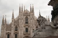 Ornate Milan Duomo/Cathedral in Milan, Italy