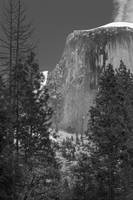 Half Dome viewed from Ahwahnee Hotel