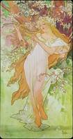 Alphonse Mucha Artwork Framed Print