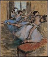 Edgar Degas Painting Framed Print