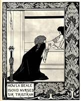 Aubrey Beardsley Artwork Framed Print