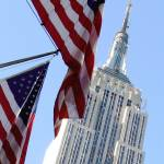 """Star spangled banner and Empire State building"" by JohnWardell"