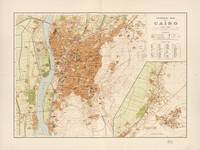 General Map of Cairo, Egypt (1920)