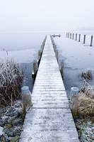 frozen dock