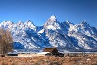 Tetons in Fresh Snow